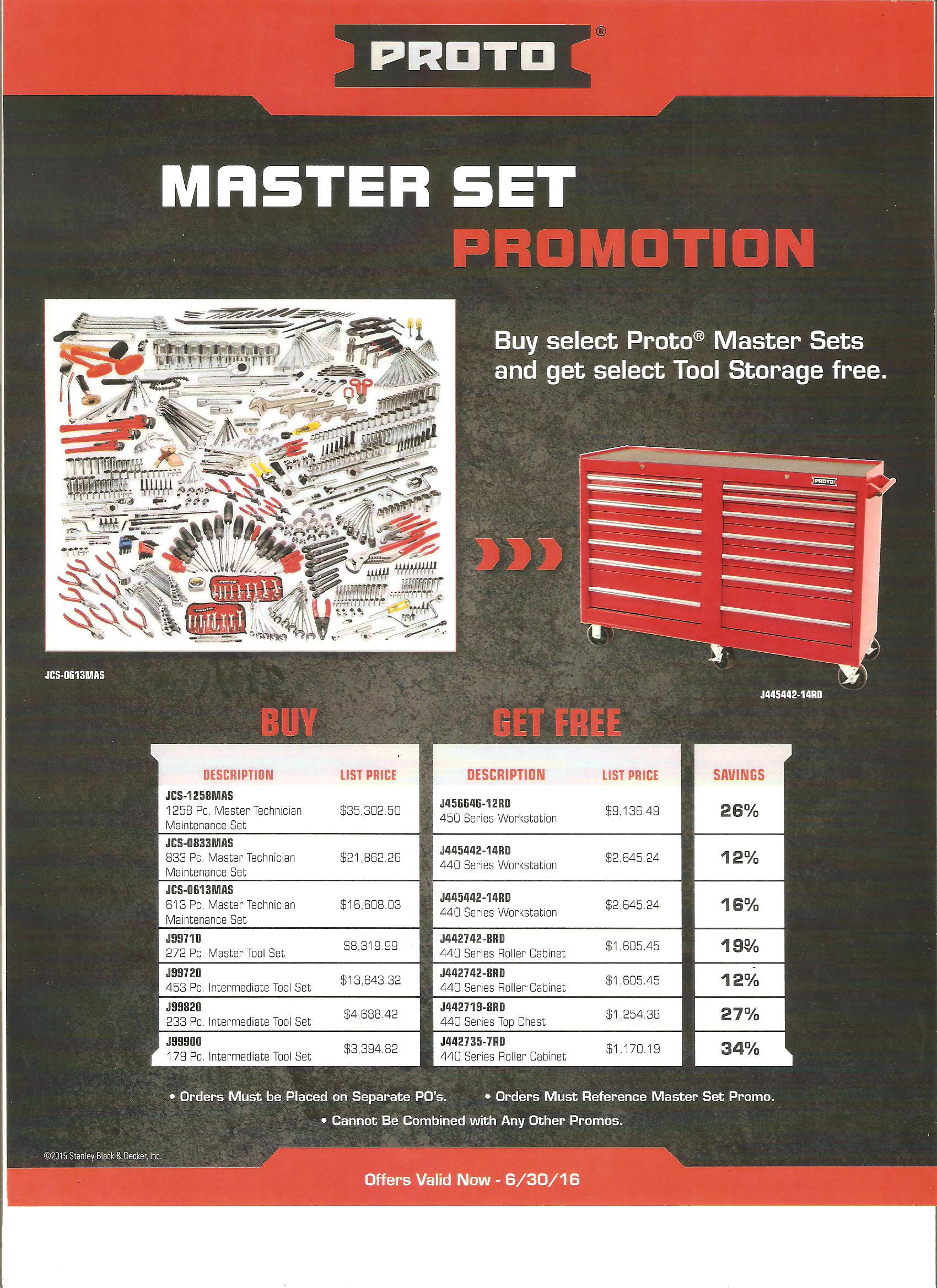 Buy Masterset, Get Workstation Free